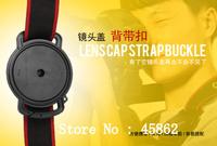 Camera Lens Cap keeper 40.5/43/49/52/55/58/62/67/72/77/82mm Universal Anti-losing Buckle Holder Keeper