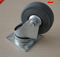 Diameter:50mm gray plastic jog furniture wheel casters steering wheel