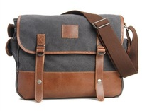 Casual Desigual Canvas Men's Travel Bags Messenger Bags  Free Shipping A4730