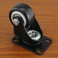 40mm Heavy swivel flat wheel steering  ultra quiet furniture casters