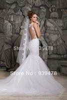 Свадебное платье Elie Saab New Princess Satin Lace Long Sleeve Elegant Wedding Dress vestidos de novia Custom Made EL3