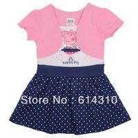 Nova Girl Princess Dress 2014 New Fashion Brand Children Girls Dress Hot Baby Kids Clothing Set girls party dress