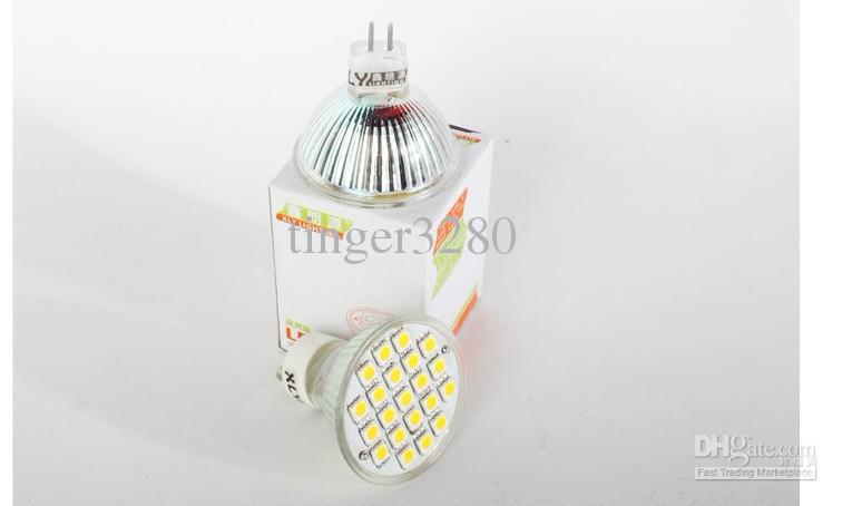 Галогенная лампа MR16 3W chip /21 lights Cup beads 5050 patch /220V highlight lighting source/LED bulbs