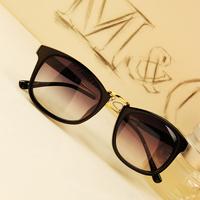 Rubric d14 vintage black the trend sunglasses normic female fashion sunglasses metal sunglasses