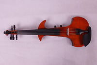 4/4 High quality Baroque red Electric violin