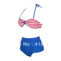 2014 newest  High Waisted Bikini Set S M L