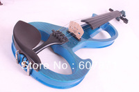 4/4 High quality 6 #  5 strings  blue  Electric violin