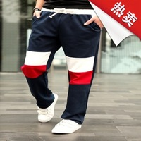 WA902 Multicolor Autumn  men's sports pants Casual pants Straight pants Male sports pants Sweatpants