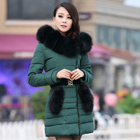 2014 Regular No Seconds Kill Fur Winter Jacket Women Women Sexy Fashion Cultivate One's Morality Cotton-padded Clothes. Jacket