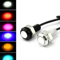 2014 Car Light  Eagle Eye LED Daytime Running Lamp  Brake Fog Car Reversing  Lights  12V 3W   DIY Ultrathin Stealth DRL