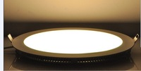 Free shipping LED Panel Lamp 12W -2835 Mini Round LED Panel Light D172X12HMM 110-265VAC input