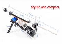 Free shipping Professional Kitchen Knife Sharpener System Fix-angle 4 Stones Diamond Multi-purpose Sharpener
