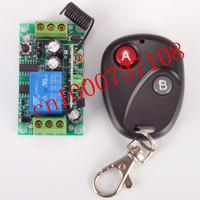 DC12V 1CH RF 315MHZ /433MHZ switch curtain remote wireless remote control switch system