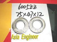 1pc 6005-2Z ZZ 6005ZZ Deep Groove Ball Bearing 25 x 47 x 12mm