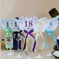 Как сделать нумерацию на столы свадьба