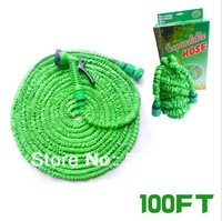 100FT US American standard fit connection Expandable flexible Pocket hose Garden hose (Artificial latex)  GH-04U