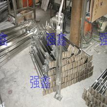 Personalize aço inoxidável 304 escada guardrail corrimão de alumínio e magnésio faca liga prefixos coluna da escada(China (Mainland))