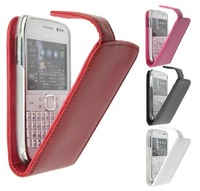 Free shipping high quality Original Doormoon flip Leather Cover Case For Nokia E6