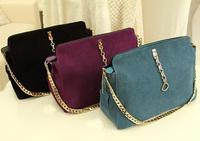 Fashion Women Lady Nubuck Leather Retro Shoulder Bag Handbag Composite Bag