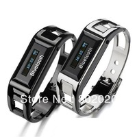 Free Ship! Bluetooth Bracelet Wrist Watch Vibrating Alert LCD w/ Caller ID Anti-loss Mobile phone