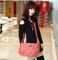 Canvas bag women's handbag shoulder bag messenger bag vintage bag work