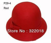 Wholesale 2015 Kid Winter Wool Cap Child Spring Cloche Autumn Kids Hat Girls Bucket Hats Children Felt Caps Girl Bowler Derby