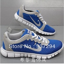 Free shipping Hot Sales New large size fashion leisure men sports shoes Running shoes 40-48(China (Mainland))