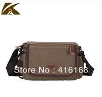 New cotton canvas shoulder bag man bag Messenger bag Korean version of the influx of casual bag handbags