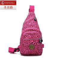 Casual bag nylon cotton prints bag mini chest pack ultra-light waterproof sports bag shoulder bag