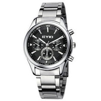 2014 Ikey watch male the trend of fashion lovers table steel strip waterproof quartz watch female form casual watch