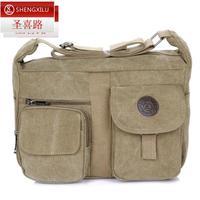 Man  canvas  casual bag big one shoulder messenger  outdoor bag  outdoor tourism travel shoulder bag