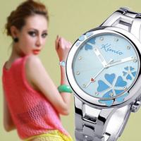 Heterochrosis flower kimio bracelet watch fashion ladies watch steel watch