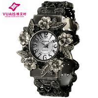 Ladies watch steel strip waterproof watch female student table women's bracelet watch fashion vintage quartz watch