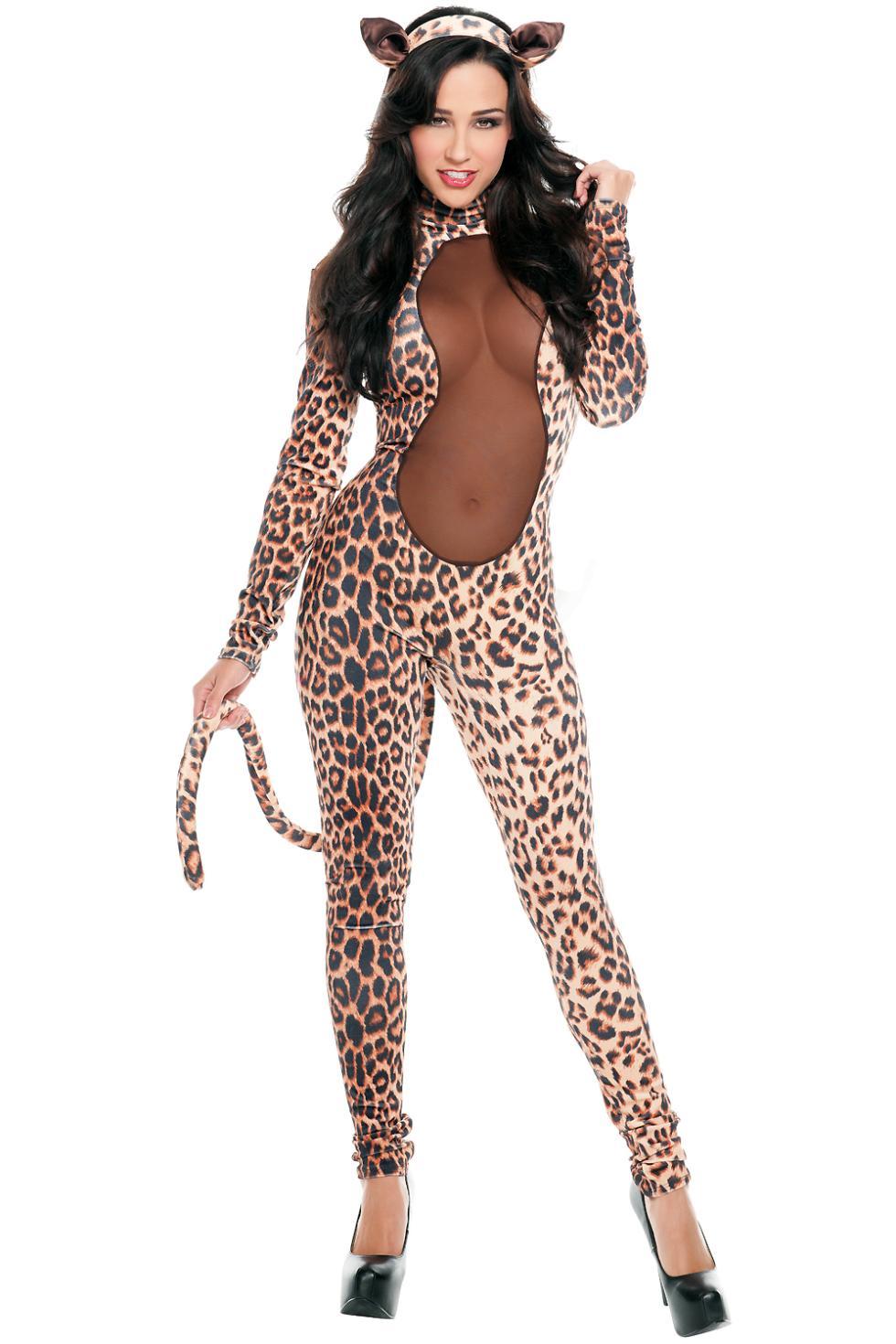 fantasias costumes  Womens Starline Kitty Costume LC8754  Rompers Jumpsuit women  Casual macacao feminino new 2015(China (Mainland))