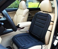winter car heated pad car heated seat cushion electric heating pad, car heated seat covers Single Black
