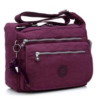 Women's handbag large capacity messenger bag water wash cloth nylon waterproof shoulder bag