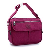 Brief women's handbag nylon messenger bag casual bag waterproof light work bag large  bag