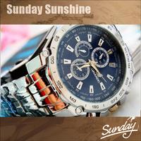 2014 New fashion men full steel watch quartz men sports military watches casual wristwatches male clock relogio masculino