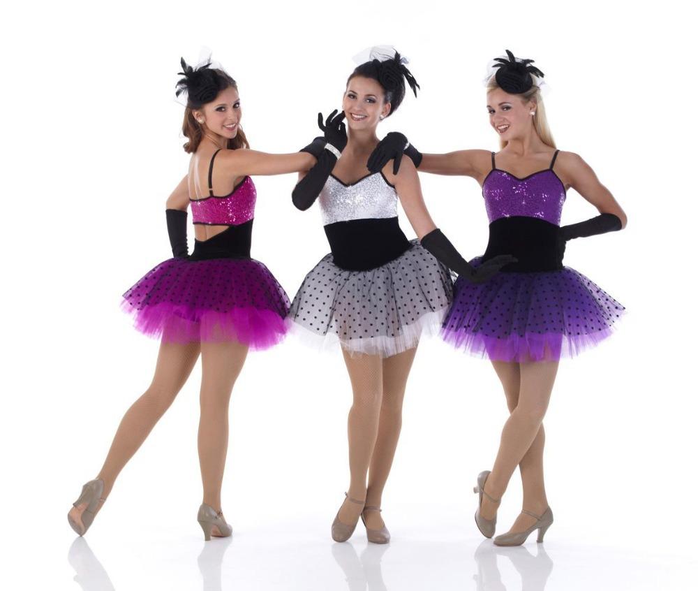 Девочки Танцуют Юбки Ся В Танце