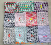 wholesale Fashion Chevron Wave Print Scarf Circle Loop Infinity Scarves , Free Shipping