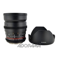 Rokinon 8mm t/3.8 Fisheye Cine VDSLR Lens for Nikon, Removable Lens  HOOD   FREE  SHIPPING