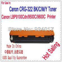 Toner Cartridge For Canon LBP 9100 9500 9600 Priner,Use For Canon Toner CRG322 CRG-322 CRG-322BK CRG-322C/M/Y,For Canon Printer