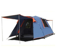 Camel automatic tent outdoor 3 - 4 camping tent double layer quartet