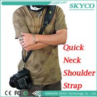 Quick Neck Shoulder Strap Camera Single Shoulder Sling Black Belt Strap for SLR DSLR  Canon Nikon Sony Cameras