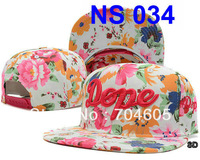Brand dope floral adjustable baseball hats GALAXY HATER Snapbacks leopard print StrapBack hat basketball snapbacks caps 20pcs
