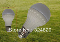 10pcs/lot LED Aluminum bulb high quality PC cover 7W E27 AC85~265V 5050SMD white warm white high quality free shipping