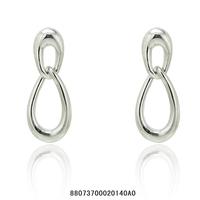 Fashion jewelry.Free shipping.Generous 18 KGP white/rose gold stud earrings.Wholesale & Retail fashion women stud earrings.