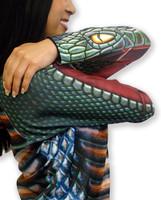 Free shipping 3D animal cartoon snake kids hoodies Children's T-shirts shij beauties
