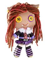 Free Shipping original monster high dolls Plush Clawdeen Wolf  Doll 22cm dolls for girls