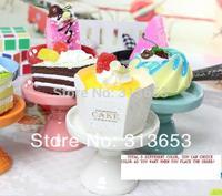 new arrival  mini  ceramic Cake pan /cake stand  wedding dessert plate/cupcake stand(7.4x6cm)-free shipping